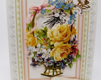 Card Birthday Bridal Shower Friendship Encouragement Get Well Sympathy Easter From Me to You