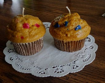 Warm Bakery Muffins (Candles) Made With Pure Soy!