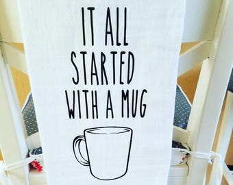 Rae Dunn (It all started with a mug)