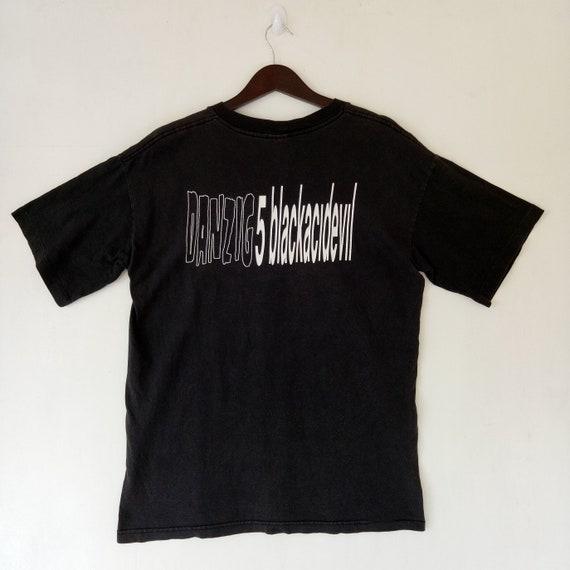 tour heavy album promo metal acid DANZIG Black 90s American shirt tee concert t 5 band 1996 evil VINTAGE wxOtHqUvU