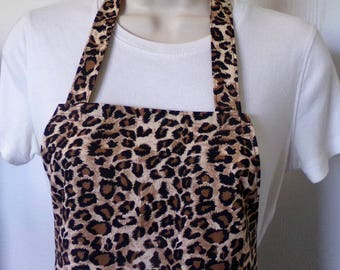 Full Apron - Cheetah Print