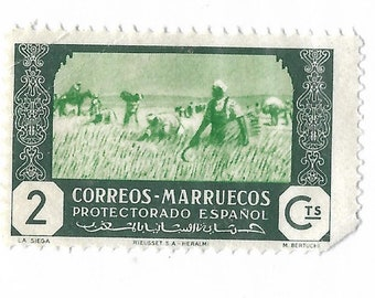 a postage stamp from spain