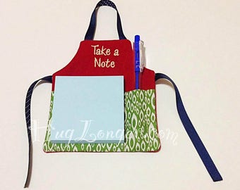 ITH Apron Pad holder HL2101 embroidery file