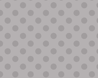 1 Yard of Hollywood SPARKLE Dots in Gray by Riley Blake