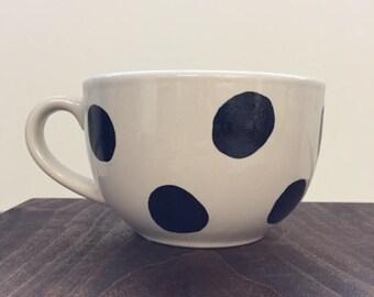 Large Polka Dot mug