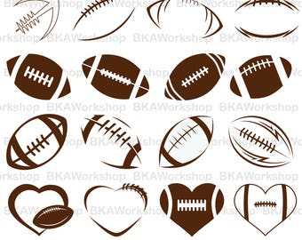 Football american svg - Football american vector - Football american digital clipart for Design or more, files download svg, png, dxf