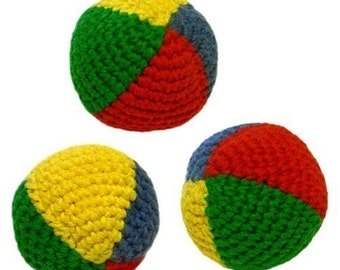 Juggling Balls - PDF Crochet Pattern - Instant Download