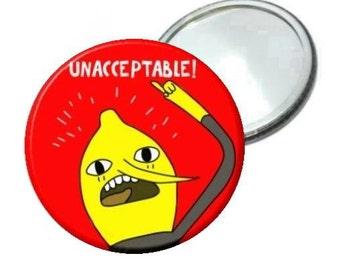 "Mirror - Adventure Time Lemongrab image 2.25"""