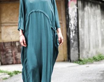 Women long tunic dress cotton blouse silk cotton dress silk dress summer dress plus size clothing maxi dress party dress women dress