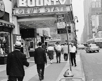 New York , Times Square in 1962 # 2