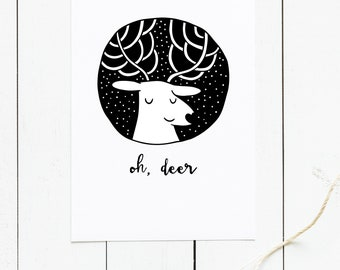 Oh, Deer | Greeting Card
