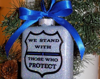 Support Law Enforcement Ornament