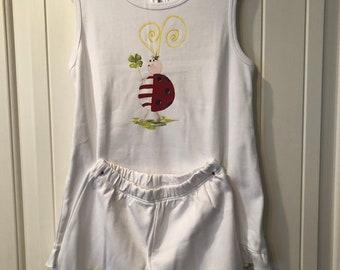 Ladybug Tank/Short Loungewear