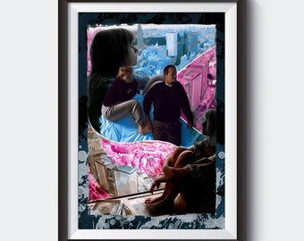 Lost in Translation Painting Poster | PRINTS | #M48