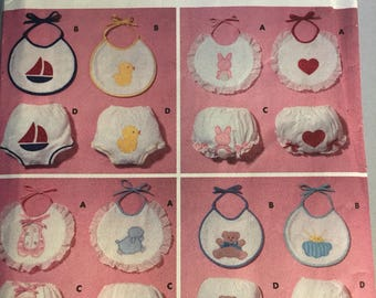 6550 Infants' Bibs and Diaper Covers All Sizes 0-30lbs