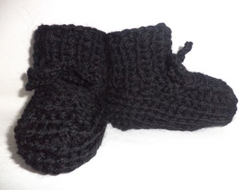 Baby shoes knit socks wool