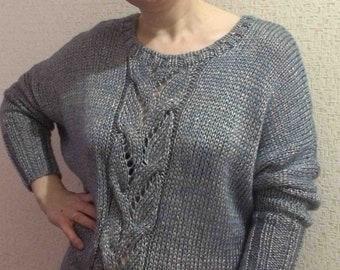 oversized sweater hand made