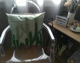 Design Cactus green pillow lifestyle cushion retro Indoor