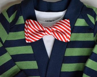 Onesie and bow tie set, long sleeve cardigan and bow tie set, gifts for baby, baby bow tie,baby onesie, boys onesie