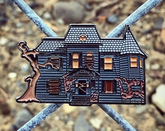 IT House Enamel Pin