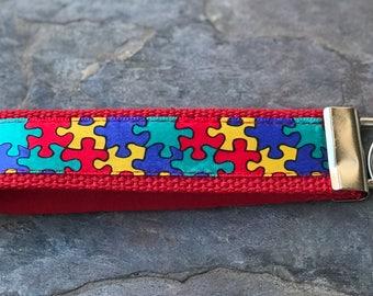 Autism Awareness Key Fob