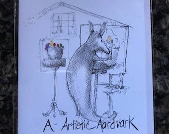 Artistic Aardvark