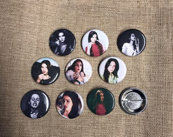 Lana Del Rey Buttons