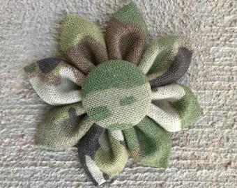 US Army OCP Operational Camouflage Pattern Fabric Sunflowers