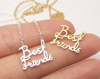 Dainty Best Friends Necklace in Gold/Silver NB687