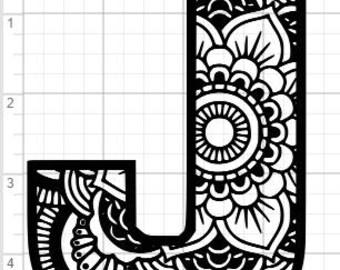 40+ Mandala Alphabet Letters Svg – SVG Bundles