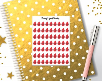 Period Tracker/Time of the Month Planner Stickers