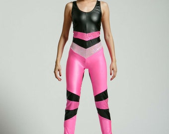 Pink Pony Power Portal Suit for the Modern Superhero - Free Shipping