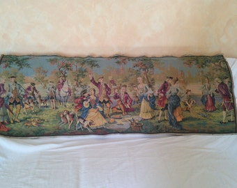 Hanging Tapestry Vintage complete with Rings Cotton