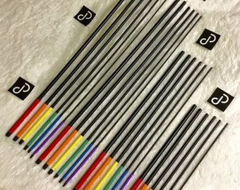 24 Piece - Ultimate Rainbow Caning Set w/Roll Case - Black - Free US Shipping