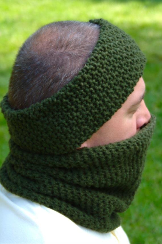 Crochet Pattern - Mens Ear Warmer Pattern Mens Neck Warmer Pattern ...