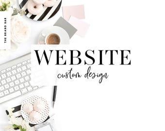 Squarespace Design Custom Squarespace Website Web Design Custom Blog Custom Brand