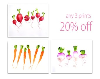 Kitchen Art Prints Wall Art | Kitchen Paintings | Kitchen illustrations | Kitchen Drawings | Print Sale | LaBerge |