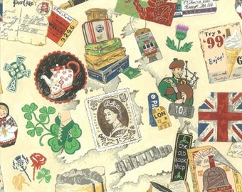Vintage UK 11620 - Nutex Patchwork Quilting Fabric