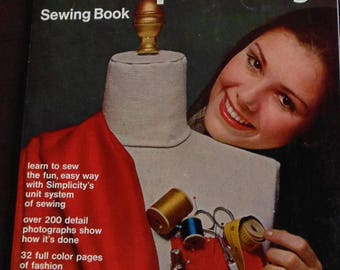 Simplicity Sewing Book, 1969