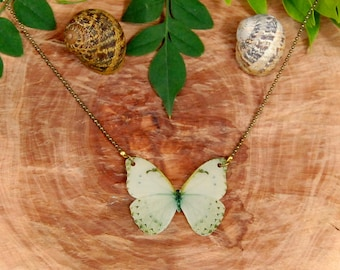 Butterfly Necklace, Butterfly Jewellery, Butterfly Jewelry, Gifts for her, Shrink Jewelry,Insect Jewelry, Bug, Colourfull Butterflies