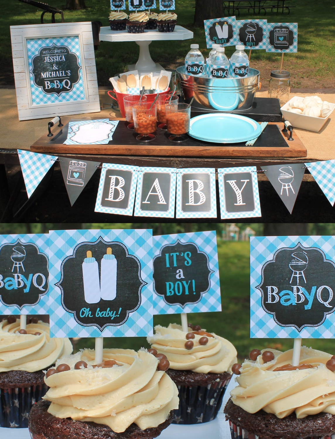 decor fo boy for homemade best centerpieces decoration a baby online on favors decorations plus chevron ideas boys also cheap shower buy