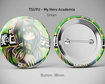 My Hero Academia Buttons