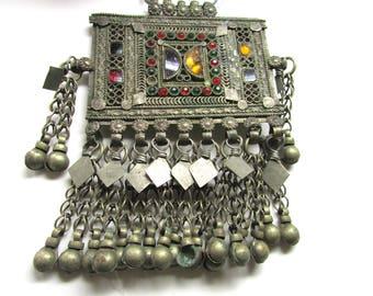 Vintage Handmade Kuchi Pendant