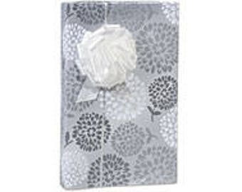 Wedding Blooms  Gift Wrap Wrapping Paper-18ft Roll w. 20Gift Tags