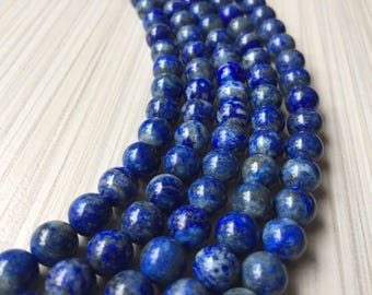 Natural Lapis Lazuli beads 8mm