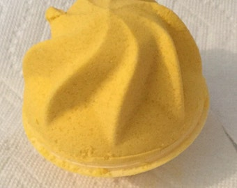 Lemon icebox cupcake fizzy