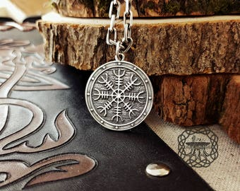 Helm of awe aegishjalmur viking pendant sterling silver helm of awe aegishjalmur viking pendant sterling silver norse pendant viking jewelry aloadofball Images
