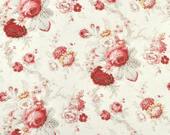 Waverly Norfolk Rose Fabric -  by the Yard
