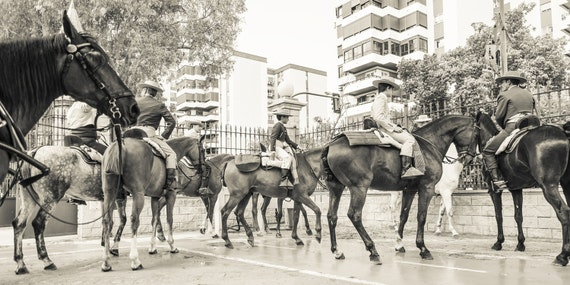 CITY COWBOYS. Jerez Horse Festival, Street Photography, Horse Print, Spain, photographic Print, Limited edition