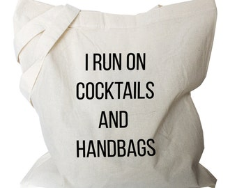 Funny Cotton Bag - Funny Cotton Tote Bag (b777)